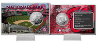 Nationals Park Silver Coin Card