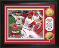 Bryce Harper Gold Coin Photo Mint