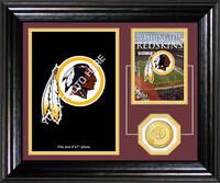 Washington Redskins Framed Memories Desktop Photo Mint
