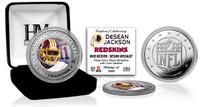 DeSean Jackson Silver Color Coin