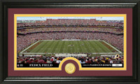 Washington Redskins Stadium Bronze Coin Panoramic Photo Mint
