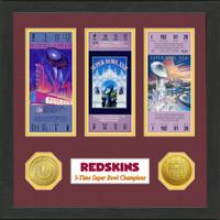 Washington Redskins  SB Championship Ticket Collection