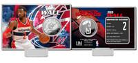 John Wall Silver Coin Card