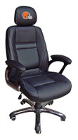 Cleveland Browns Head Coach Leather Office Chair