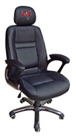 Tampa Bay Buccaneers Head Coach Leather Office Chair