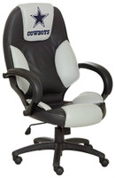 Dallas Cowboys Commissioner Leather Office Chair