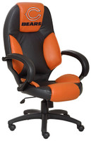 Chicago Bears Commissioner Leather Office Chair