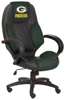 Green Bay Packers Commissioner Leather Office Chair