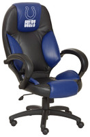 Indianapolis Colts Commissioner Leather Office Chair
