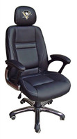 Pittsburgh Penguins Head Coach Leather Office Chair
