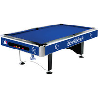 Kansas City Royals MLB 8' Logo Pool Table