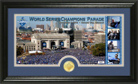 **Kansas City Royals 2015 World Series Victory Parade Pano Photo Mint LE 2,015