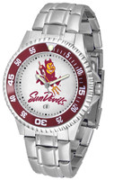 Arizona State Sun Devils Competitor Stainless Steel Watch (Men's or Women's)
