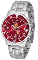 Arizona State Sun Devils Competitor AnoChrome Stainless Steel Watch (Men's or Women's)