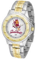 Arizona State Sun Devils Competitor Stainless Steel AnoChrome Watch (Men's or Women's)
