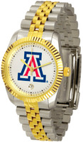 Arizona Wildcats Executive  2-Tone 23k Gold Stainless Steel Watch (Men's or Women's)