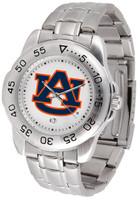 Auburn Tigers Sport Stainless Steel Watch (Men's or Women's)