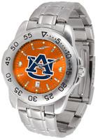 Auburn Tigers Sport Stainless Steel AnoChrome Watch (Men's or Women's)