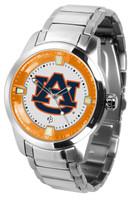 Auburn Tigers Titan Stainless Steel Watch