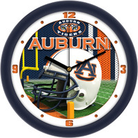 *Auburn Tigers 12 Inch Round Wall Clock