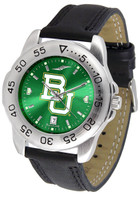 Baylor Bears Sport Leather AnoChrome Watch (Men's or Women's)