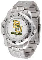 Baylor Bears Sport Stainless Steel Watch (Men's or Women's)