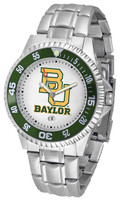 Baylor Bears Competitor Stainless Steel Watch (Men's or Women's)