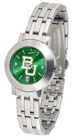 Baylor Bears Ladies Silver Stainless Steel Dynasty AnoChrome Watch