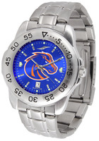 Boise State Broncos Sport Stainless Steel AnoChrome Watch (Men's or Women's)