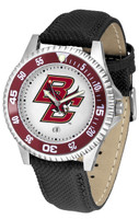 Boston College Eagles Competitor Leather Watch (Men's or Women's)