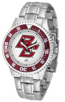Boston College Eagles Competitor Stainless Steel Watch (Men's or Women's)