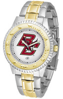 Boston College Eagles Competitor 2-Tone 23k Gold Stainless Steel Watch (Men's or Women's)