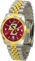 Boston College Eagles Executive  2-Tone 23k Gold AnoChrome Stainless Steel Watch (Men's or Women's)