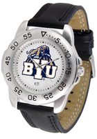 BRIGHAM YOUNG COUGARS Sport Leather Watch (Men's or Women's)