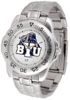 BRIGHAM YOUNG COUGARS Sport Stainless Steel Watch (Men's or Women's)