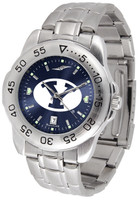 BRIGHAM YOUNG COUGARS Sport Stainless Steel AnoChrome Watch (Men's or Women's)