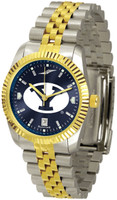 BRIGHAM YOUNG COUGARS Executive  2-Tone 23k Gold AnoChrome Stainless Steel Watch (Men's or Women's)