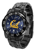 California Berkeley Golden Bears Fantom Gunmetal Sport AnoChrome Watch (Men's or Women's)