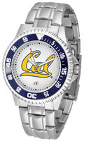 California Berkeley Golden Bears Competitor Stainless Steel Watch (Men's or Women's)