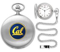 California Berkeley Golden Bears Silver Plated Pocket Watch