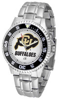 Colorado Buffaloes Competitor Stainless Steel Watch (Men's or Women's)