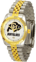 Colorado Buffaloes Executive  2-Tone 23k Gold Stainless Steel Watch (Men's or Women's)
