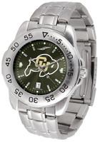 Colorado Buffaloes Sport Stainless Steel AnoChrome Watch (Men's or Women's)