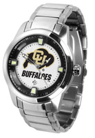 Colorado Buffaloes Titan Stainless Steel Watch