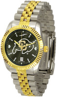Colorado Buffaloes Executive  2-Tone 23k Gold AnoChrome Stainless Steel Watch (Men's or Women's)
