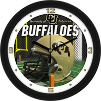 Colorado Buffaloes 12 Inch Round Wall Clock