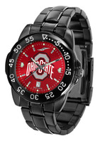 Ohio State Buckeyes Fantom Gunmetal Sport AnoChrome Watch (Men's or Women's)