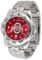 Ohio State Buckeyes Sport Stainless Steel AnoChrome Watch (Men's or Women's)