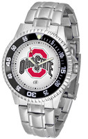 Ohio State Buckeyes Competitor Stainless Steel Watch (Men's or Women's)
