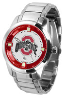 **Ohio State Buckeyes 2014 National Champions Titan Stainless Steel Watch
